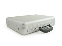 Metal suitcase, luggage Stock Images