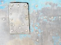 Metal surface. Royalty Free Stock Image