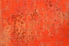 Metal surface. Red rusty metal surface texture stock photos