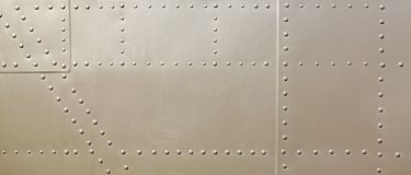 Free Metal Surface Of Military Aircraft Royalty Free Stock Images - 160528559