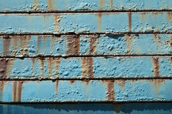 Metal surface with rust Royalty Free Stock Images