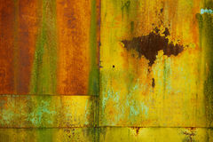 Metal surface with rust Stock Image
