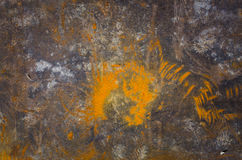 Metal surface with rust texture as background Stock Photos