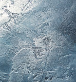 Metal surface. Metal surface with scratches and dents royalty free stock photo