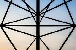 Metal symmetry silhouette Stock Photos