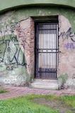 Metal Tür stockbild