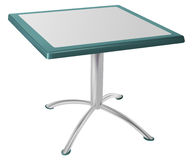 Metal table Stock Images