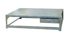 Metal table Royalty Free Stock Photography
