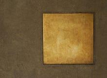 Metal tag Royalty Free Stock Photos