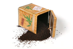 Metal Tea Box Royalty Free Stock Image