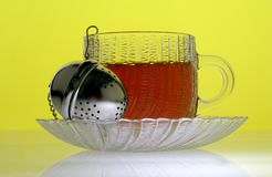 Metal Tea Infuser Stock Photos