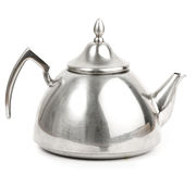 Metal tea pot Royalty Free Stock Photography