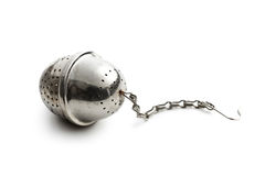 Metal tea strainer Royalty Free Stock Photography