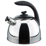 Metal teapot. On a white background. Vector clipping path stock photo