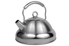 Metal teapot Royalty Free Stock Images