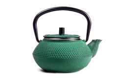 Metal teapot Stock Image