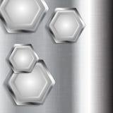 Metal tech design Stock Photo