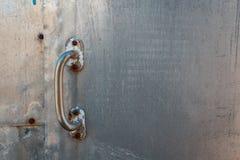 Metal tekstura, aluminium, srebro narysy na aluminiowym tekstury tle obraz stock
