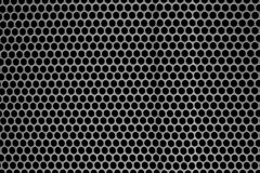 Metal tekstura z dziurami tła grille głośnikowy tekstury use Obrazy Royalty Free