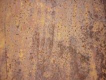 Metal tekstura z narysami i pęknięciami zdjęcie stock