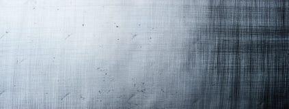 Metal tekstury sztandar Fotografia Royalty Free