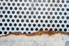 Metal tekstury tło Fotografia Stock