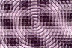 Metal tekstury tło Kwadratowa siatka z okręgiem Retro rocznik Zdjęcie Stock