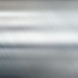 Metal tekstury tło oczyszczona stali Obrazy Stock