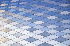 Metal tekstury tło wzór architektury abstrakcyjne Barwioni metali talerze Obraz Stock