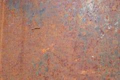 Metal tekstury Zrudziały tło Fotografia Stock