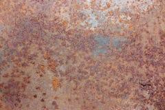 Metal tekstury Zrudziały tło zdjęcie royalty free