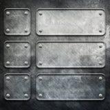 Metal template Stock Image
