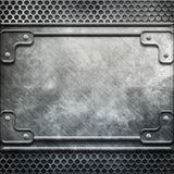 Metal template Royalty Free Stock Photo