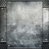 Metal template Stock Photography