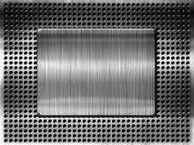Metal template Royalty Free Stock Photos