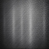 Metal template background. Composite background from metal construction Stock Illustration