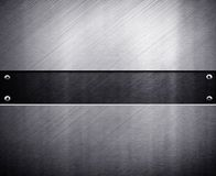 Metal template background Royalty Free Stock Images