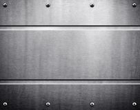 Metal template background Royalty Free Stock Photos