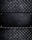 Metal template background Stock Photos
