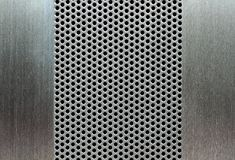 Metal template background Royalty Free Stock Photo
