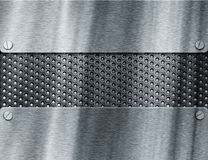 Metal template background Royalty Free Stock Photography