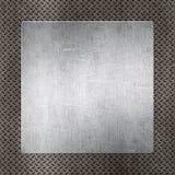 Metal template Stock Photo