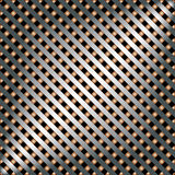 Metal template with texture. Royalty Free Stock Photography