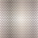 Metal template with texture stock illustration