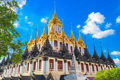 Metal Temple of Bangkok Royalty Free Stock Images