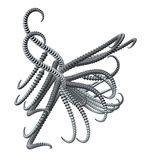 Metal tentacles Royalty Free Stock Images
