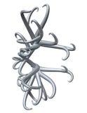 metal tentakel Royaltyfri Fotografi