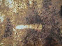 Metal a textura da oxidação com ponto, fundo abstrato do grunge fotos de stock royalty free