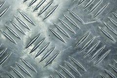 Metal a textura do assoalho Fotos de Stock