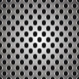Metal a textura dos pontos Imagens de Stock